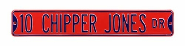 10 Chipper Jones Dr Street Sign