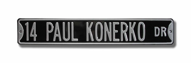 14 Paul Konerko Dr Street Sign