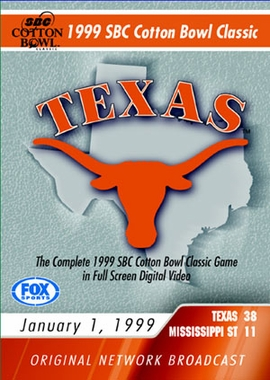 1999 SBC Cotton Bowl Classic Game DVD