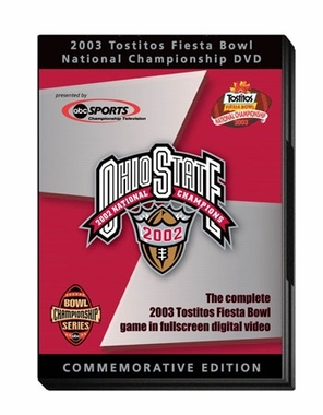 2003 Fiesta Bowl: OSU vs. Miami DVD