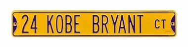 24 Kobe Bryant Ct Street Sign