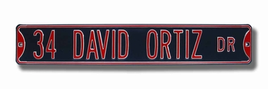 34 David Ortiz Dr Street Sign