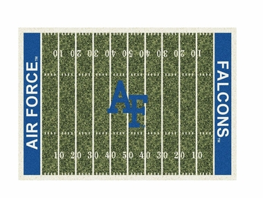 "Air Force 3'10"" x 5'4"" Premium Field Rug"