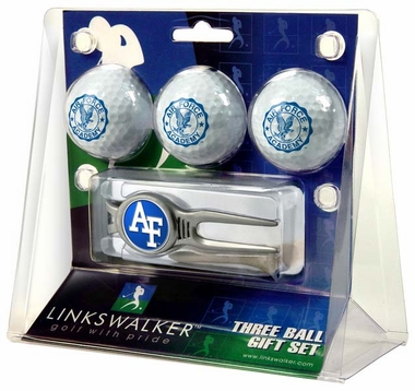 Air Force 3 Ball Gift Pack With Kool Tool