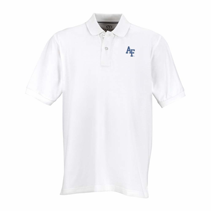 Air force mens perfect polo color white 5x large for Mens 5x polo shirts
