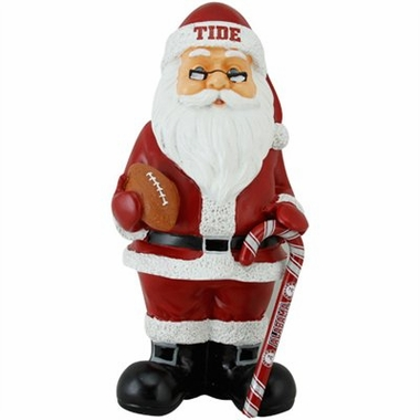 Alabama 11 Inch Resin Team Santa Figurine