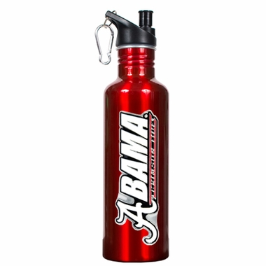 Alabama 26oz Stainless Steel Water Bottle (Team Color)
