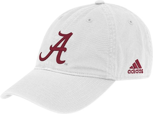 Alabama Adidas Adjustable Slouch Hat (White) 745d93e0364