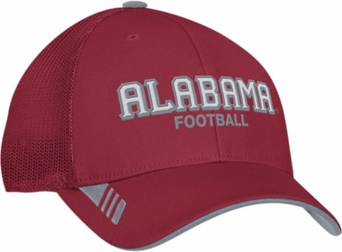 Alabama Adidas Player Mesh Back Flex Hat