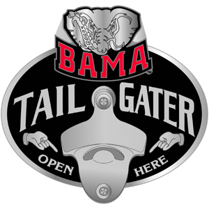 Alabama Bottle Opener Hitch Cover
