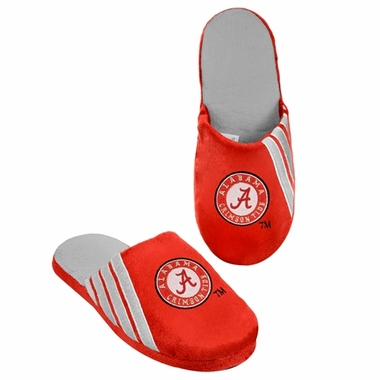 Alabama Crimson Tide 2012 Team Stripe Logo Slippers
