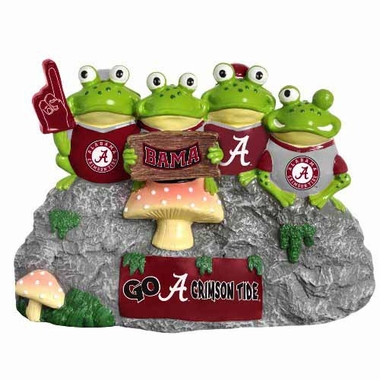 Alabama Crimson Tide Frog Fan Bench
