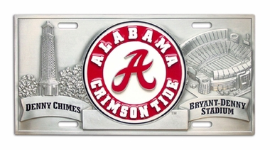 Alabama Deluxe Collector's License Plate