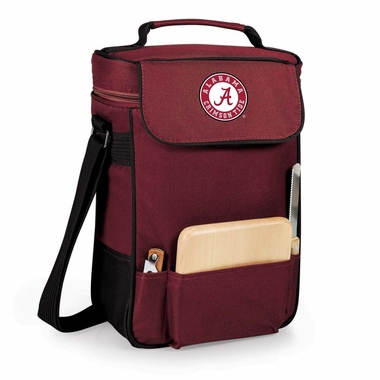 Alabama Duet Compact Picnic Tote (Burgundy)