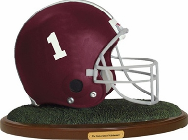 Alabama Helmet Figurine