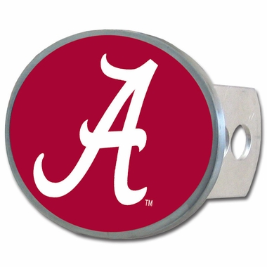 Alabama Oval Metal Hitch Cover