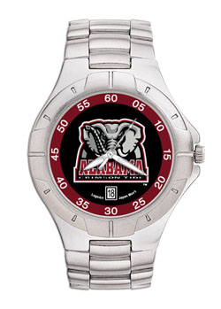 Alabama Pro II Men's Stainless Steel Watch