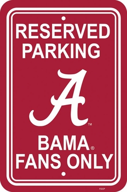 Alabama Plastic Parking Sign (P)