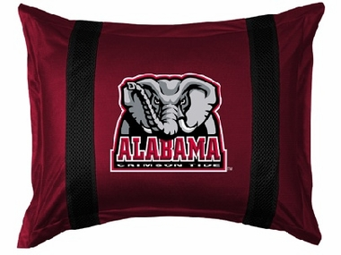 Alabama SIDELINES Jersey Material Pillow Sham