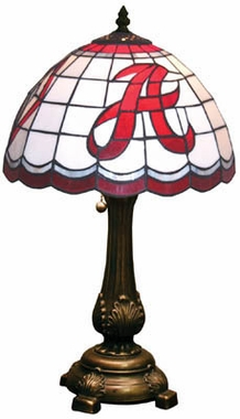 Alabama Stained Glass Table Lamp