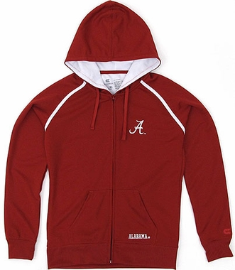 Alabama Women's Full Zip Performance Hooded Sweatshirt