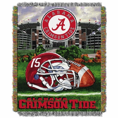Alabama Woven Tapestry Blanket