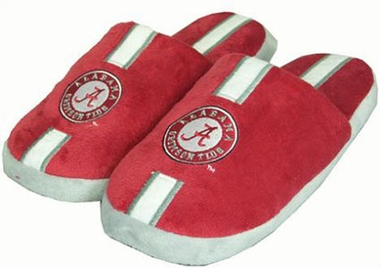 Alabama YOUTH Team Stripe Slide Slippers-Large
