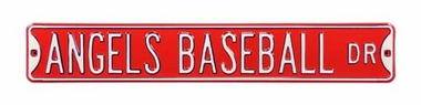 Angels Baseball Drive Street Sign
