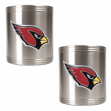 Arizona Cardinals 2 Can Holder Set