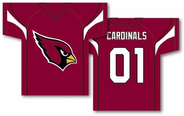 Arizona Cardinals 2 Sided Jersey Banner Flag (F)