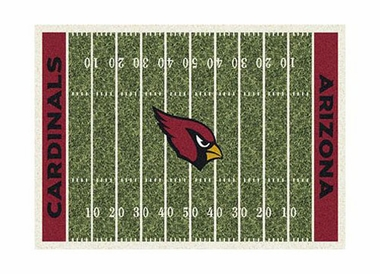 "Arizona Cardinals 3'10"" x 5'4"" Premium Field Rug"