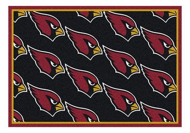 "Arizona Cardinals 5'4"" x 7'8"" Premium Pattern Rug"