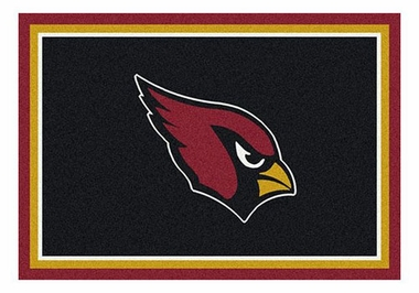 "Arizona Cardinals 5'4"" x 7'8"" Premium Spirit Rug"