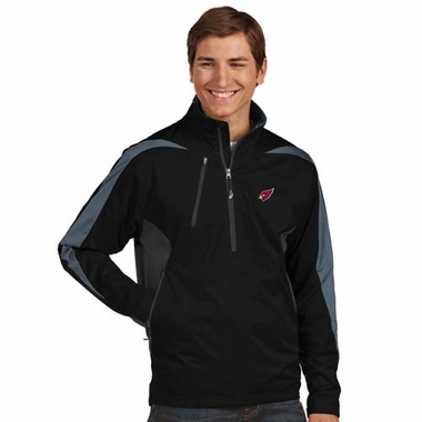 Arizona Cardinals Mens Discover 1/4 Zip Pullover (Color: Black)