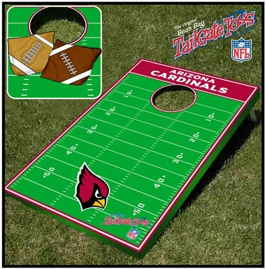 Arizona Cardinals Tailgate Toss Cornhole Beanbag Game