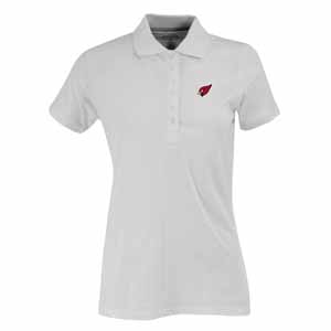 Arizona Cardinals Womens Spark Polo (Color: White) - Medium