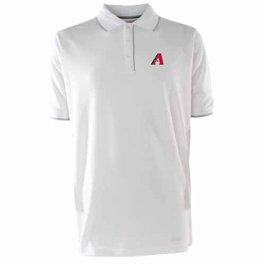 Arizona Diamondbacks Mens Elite Polo Shirt (Color: White)