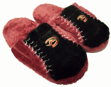 Arizona Diamondbacks Fuzzy Slippers - X-Large