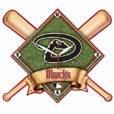 Arizona Diamondbacks High Definition Wall Clock