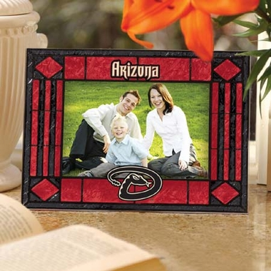 Arizona Diamondbacks Landscape Art Glass Picture Frame