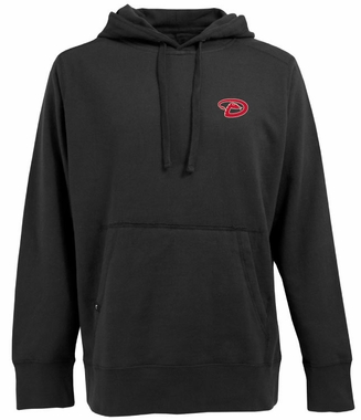 Arizona Diamondbacks Mens Signature Hooded Sweatshirt (Color: Black)
