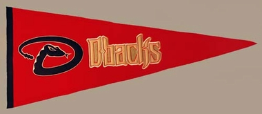 Arizona Diamondbacks Wool Pennant
