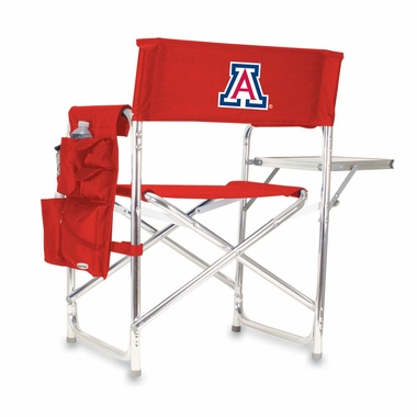 Arizona Embroidered Sports Chair (Red)