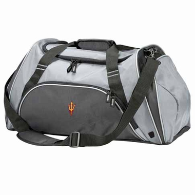 Arizona State Action Duffle (Color: Silver)