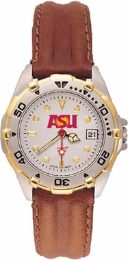 Arizona State All Star Womens (Leather Band) Watch