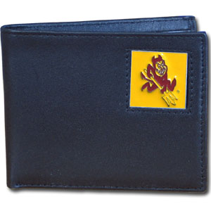 Arizona State Leather Bifold Wallet (F)