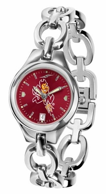 Arizona State Eclipse Anonized Womens Watch
