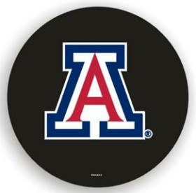 Arizona Wildcats Black Tire Cover - Standard Size
