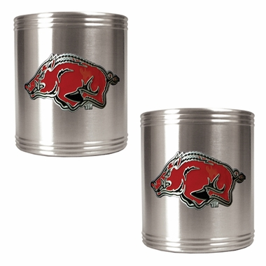Arkansas 2 Can Holder Set