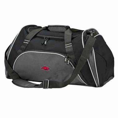 Arkansas Action Duffle (Color: Black)